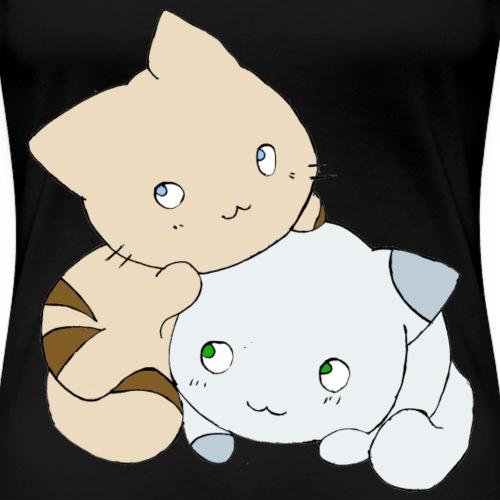 Chats - T-shirt Premium Femme