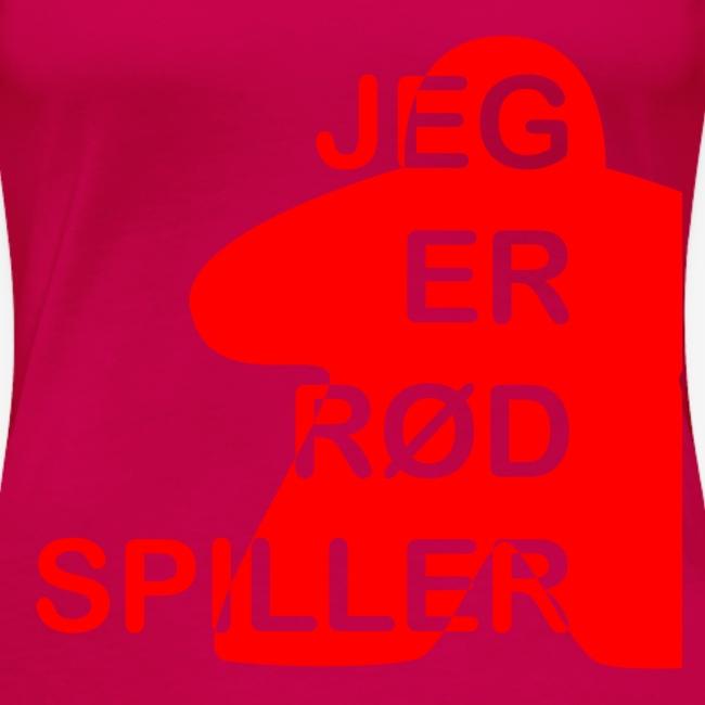 Jeg er rød spiller