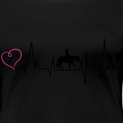Heartbeat Pleasure Herz - Frauen Premium T-Shirt