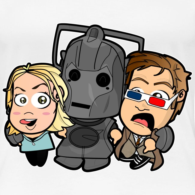 Chibi Doctor Who - Cyberman