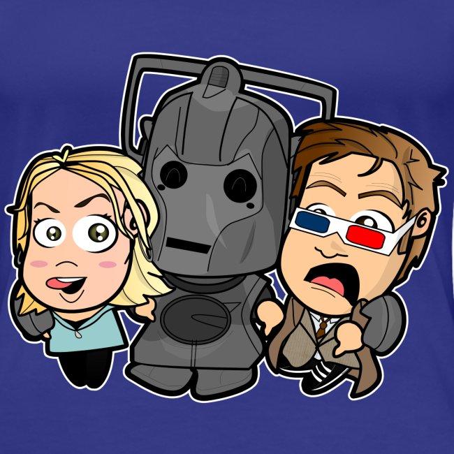 Chibi Doctor Who - Cyberman