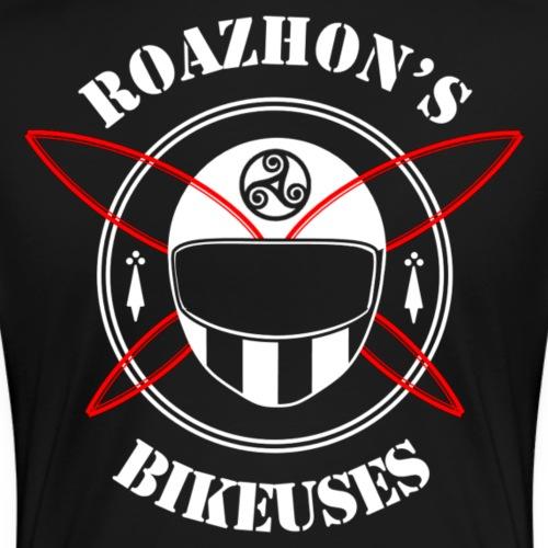 Roazhon's Bikeuses Rennes - T-shirt Premium Femme