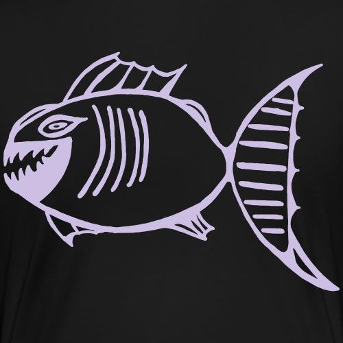 Fischlogo - Frauen Premium T-Shirt