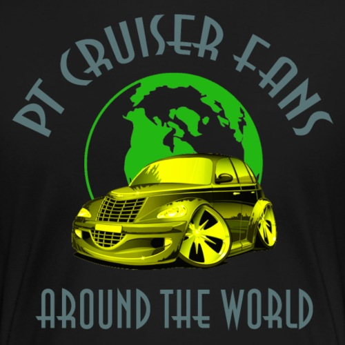 pt cruiser around the world2 yellow - Frauen Premium T-Shirt