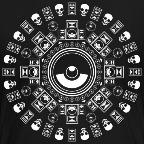 Speaker Mandala - Women's Premium T-Shirt