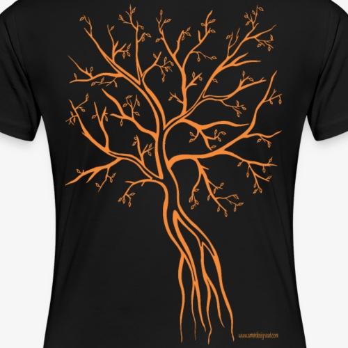 Silhouette orange - T-shirt Premium Femme