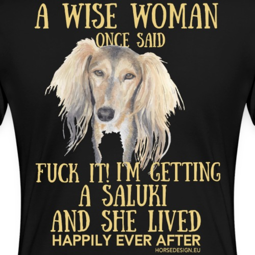 Fuck it - Saluki Spruch - Frauen Premium T-Shirt