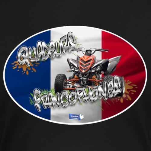 Logo Français Superquadeur drapeau droit - T-shirt Premium Femme