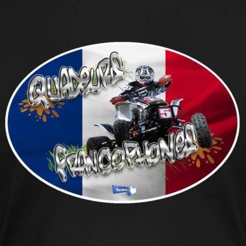 Logo Français Cross drapeau droit - T-shirt Premium Femme