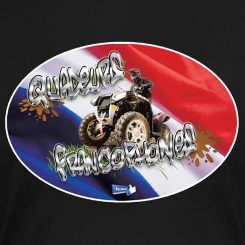 Logo Français Baroudeur drapeau oblique - T-shirt Premium Femme