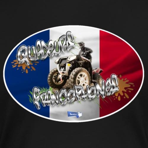 Logo Français Baroudeur drapeau droit - T-shirt Premium Femme