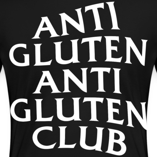 Anti Gluten Club - Vrouwen Premium T-shirt