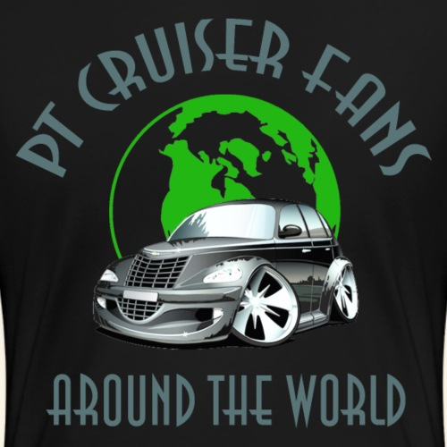 pt cruiser around the world2 silver - Frauen Premium T-Shirt