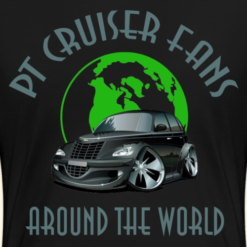 PT Cruiser around the world Black - Frauen Premium T-Shirt