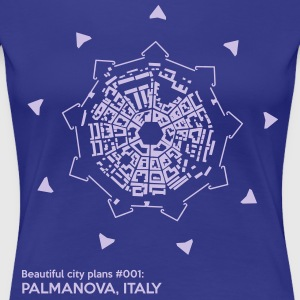 Beautiful city plans: Palma Nova - Women's Premium T-Shirt