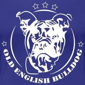 Old English Bulldog - Frauen Premium T-Shirt