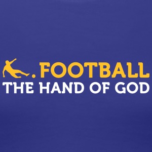 Football Quotes: The Hand Of God - Women's Premium T-Shirt
