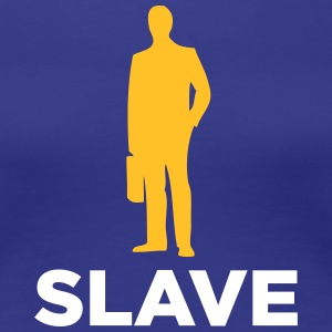 Jeg er en corporate slave - Dame premium T-shirt