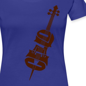 Cello - Frauen Premium T-Shirt