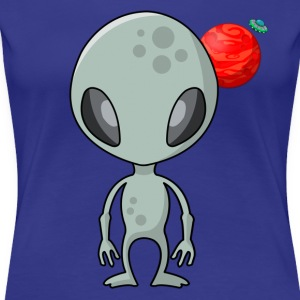 Friendly Alien - Women's Premium T-Shirt