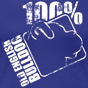 OLD ENGLISH BULLDOG 100 - Frauen Premium T-Shirt