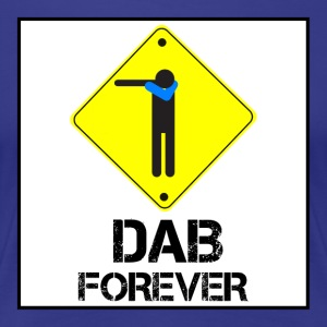 Dab Forever Yellow Black - Women's Premium T-Shirt