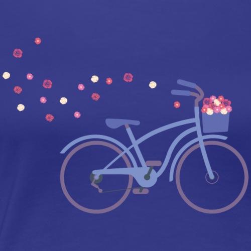 cruisingbike blue - Frauen Premium T-Shirt