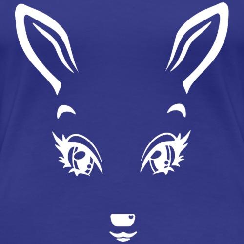 Kikykitz white - Frauen Premium T-Shirt