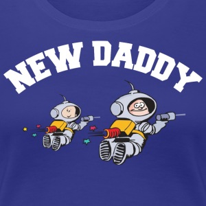 New Daddy (ADD DATUM JAHR PERSONIFIZIEREN) - Frauen Premium T-Shirt