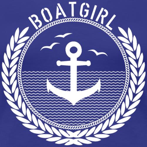 BoatGirl - Anchor - Frauen Premium T-Shirt