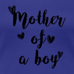 Stolze Mutter eines Sohnes T-Shirt - Frauen Premium T-Shirt