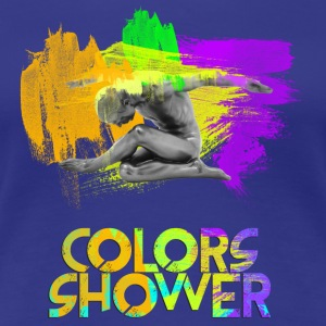 Colors Shower - Maglietta Premium da donna