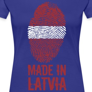 Gemaakt in Letland / Made in Letland Latvija - Vrouwen Premium T-shirt