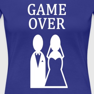 ++GAME OVER++ - Frauen Premium T-Shirt
