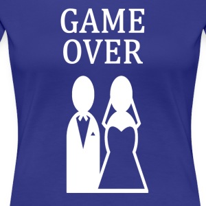 ++ ++ GAME OVER - Premium-T-shirt dam
