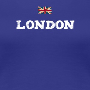 London England Union Jack brexit Great brittain lo - Women's Premium T-Shirt
