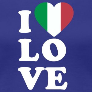 I love Italy - Women's Premium T-Shirt