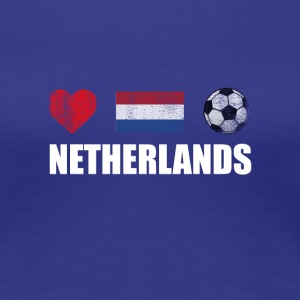 Netherlands Football Netherlander or Dutch Soccer - Women's Premium T-Shirt