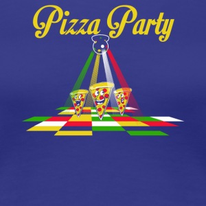 Pizza Party - Vrouwen Premium T-shirt