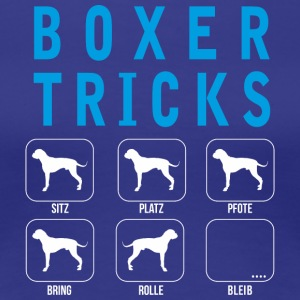 Boxer Tricks - Frauen Premium T-Shirt