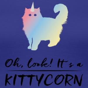 Cat! Unicorn! - Women's Premium T-Shirt