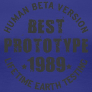 1989 - The year of birth of legendary prototypes - Women's Premium T-Shirt