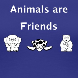 Animals are friends - Frauen Premium T-Shirt