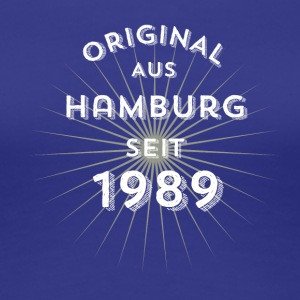 Original från Hamburg sedan 1989 - Premium-T-shirt dam