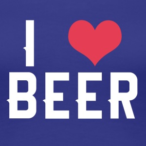 I love BEER - Women's Premium T-Shirt