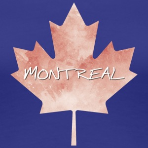 Maple Leaf Montreal - Vrouwen Premium T-shirt