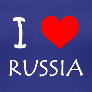 I Love Russia - Women's Premium T-Shirt