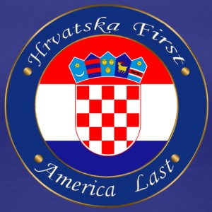 Hrvatska first - Women's Premium T-Shirt