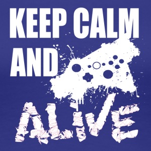 Keep Calm - Gamer Passion - Vrouwen Premium T-shirt