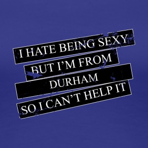 Motive for cities and countries - DURHAM - Women's Premium T-Shirt